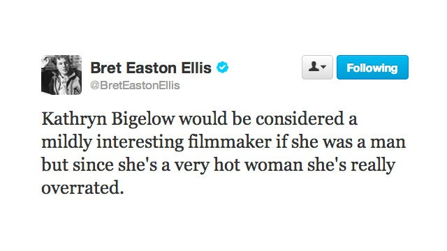 Ellen Barkin Gives Bret Easton Ellis the Twitter Smackdown of a Lifetime