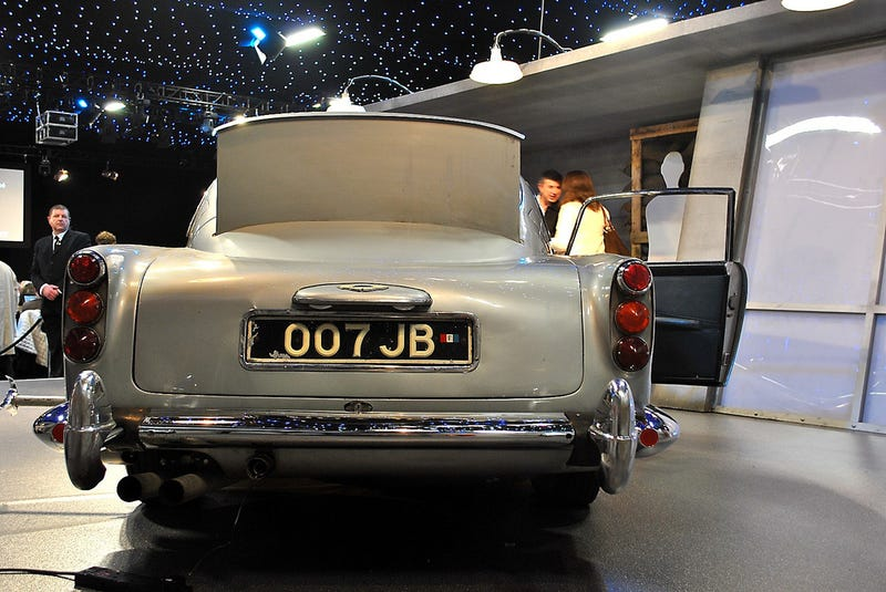 Where is James Bond's Aston Martin DB5?