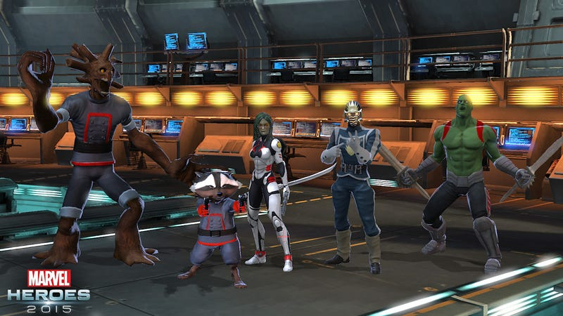 Marvel Crams The Guardians Of The Galaxy Into Every Video Game It Can