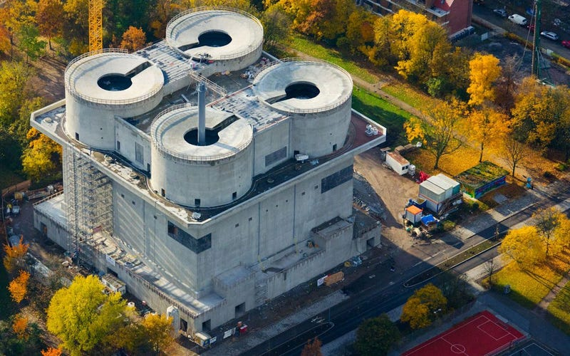 This Abandoned Nazi Bunker Just Reopened As a Clean Energy Plant