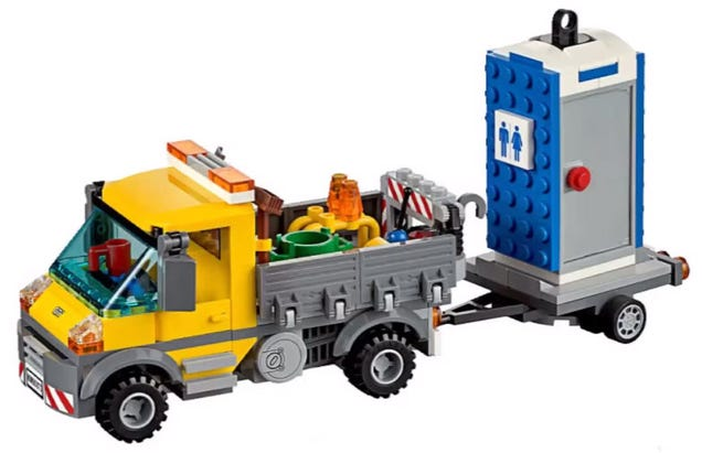 This must be the quirkiest Lego set ever made