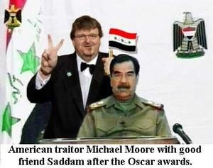 Harass Michael Moore This Afternoon