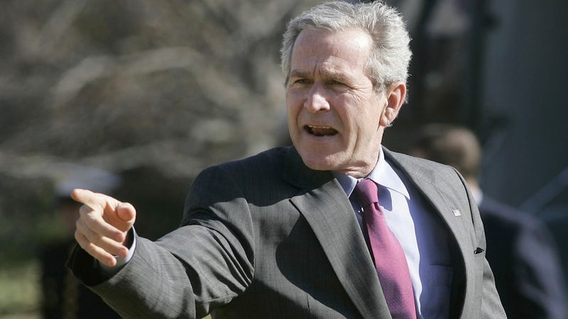 Calculators, George W. Bush Ties: Why You Shouldn't Leave Your Christmas Wish List In The Office's Shared Folder