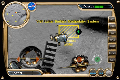 First Official NASA iPhone Game Is Science Fiction