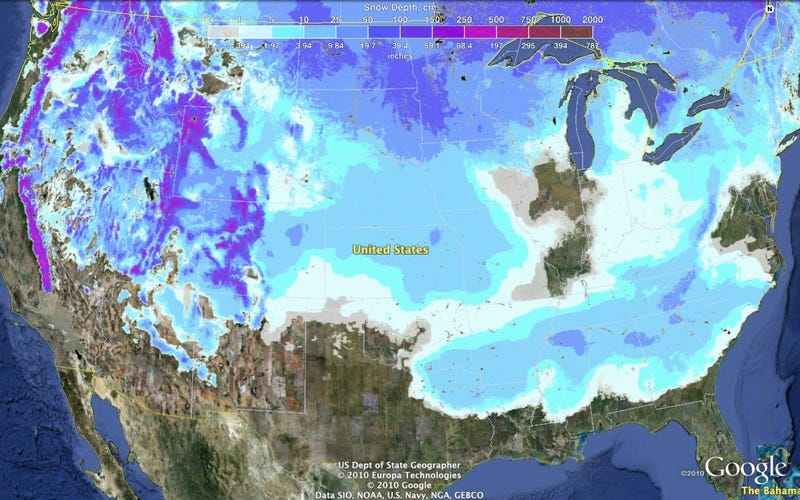 There's Snow in 49 States