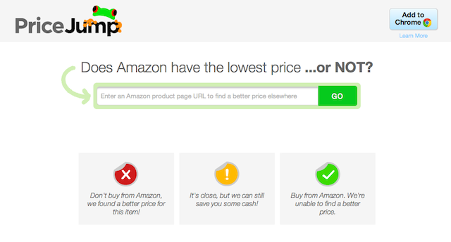 PriceJump Tells You Which Amazon Products are Cheaper Elsewhere