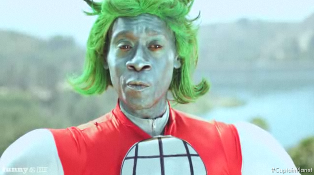 This Week's Top Web Comedy Video: Don Cheadle Is Captain Planet