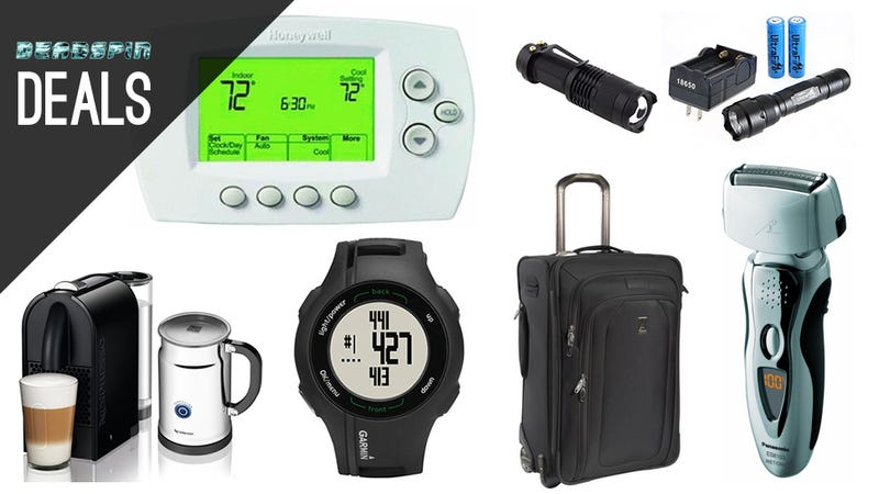A Great, Reasonably Priced Electric Razor, Nespresso, Garmin GPS Watch