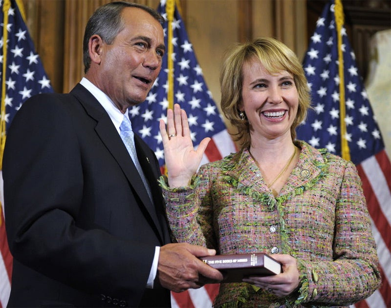 Good News for Gabrielle Giffords
