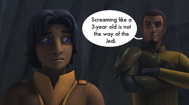 Star Wars Jedi Drawings Ezra's Jedi Trial on Star Wars