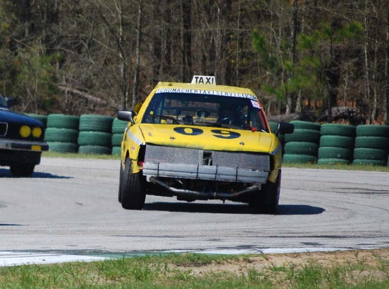 24 Hours Of LeMons South Day One: Saab Leads, Fiero In Top Ten