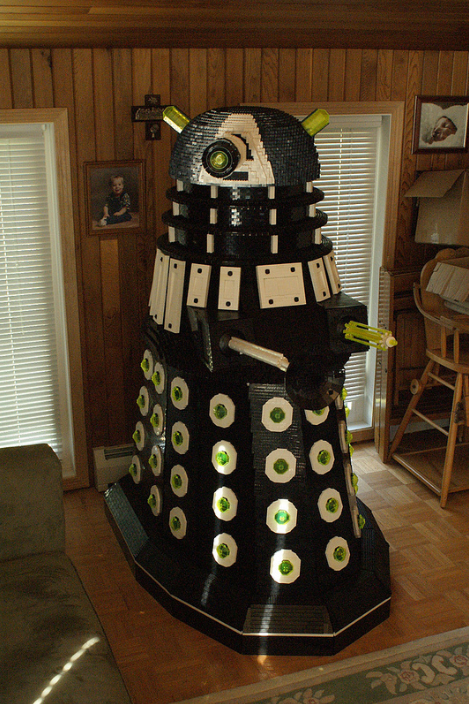This Life-Size Dr. Who Lego Dalek will Exterminate You!