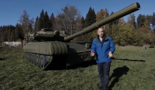 Yep, Russia's Still Using Those Inflatable Tanks and Weapons