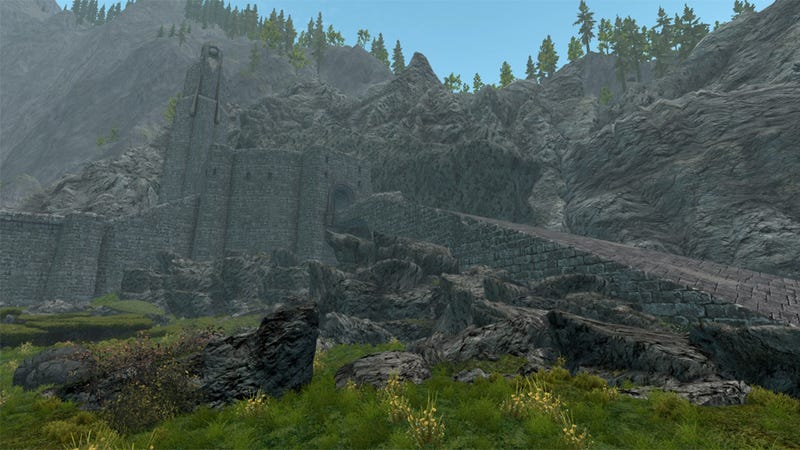 Gorgeous Lord of the Rings-Themed Skyrim Mod Project Ends After Cease & Desist Order From Warner Brothers