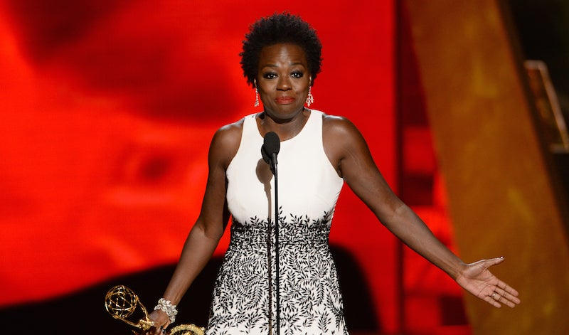 Watch Viola Davis's Speech as First Woman Of Color to Win 'Outstanding Actress' Emmy