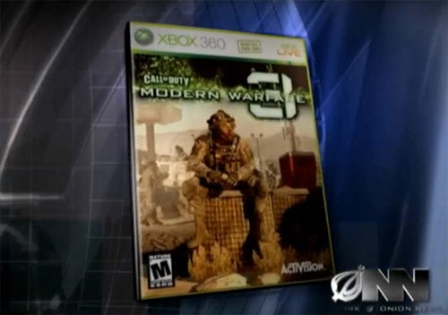 The Onion Reveals Modern Warfare 3