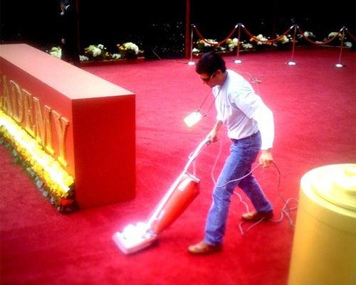 The Carpet Matches the Vacuum
