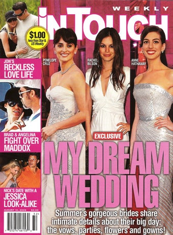 This Week In Tabloids: Weddings, Diets & Dating The Dude You're Writing About