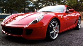 A Friend Just Bought the Unicorn Ex-Nicolas Cage 6-Speed Ferrari 599