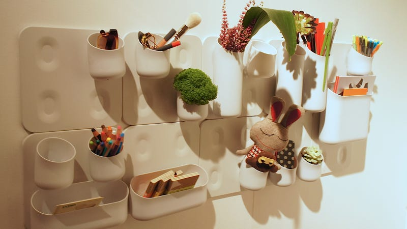 Grow an Indoor Garden on Your Wall With a Sleek, Magnetic Planter System