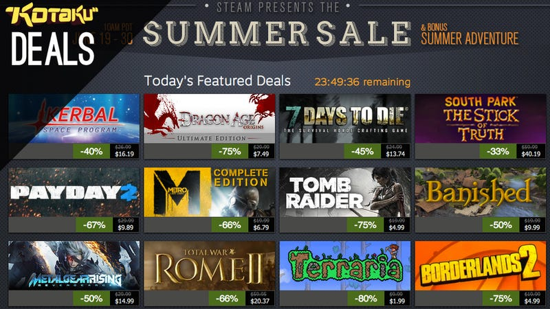 Steam Sale Finale, GOG Finale, and The Best Deals for June 29, 2014