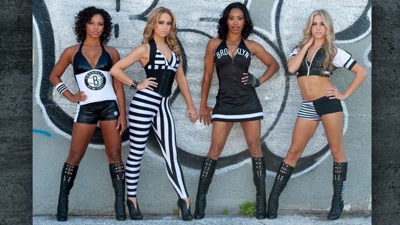 The Brooklyn Nets' Cheerleader Uniforms: Confronting the Nightmare