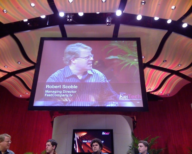 A gigantic picture of Robert Scoble for no reason