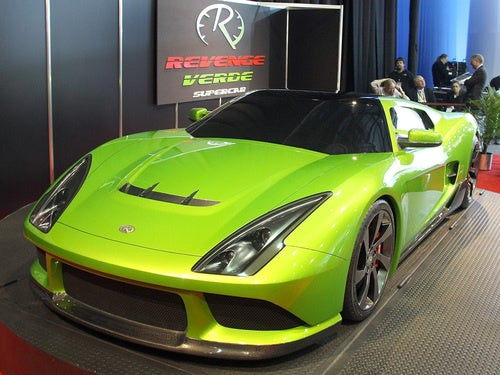 Revenge Verde An LS9-Powered Ford GT And Thankfully, Not-At-All Green