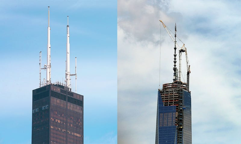 It's Official: The WTC Is the Tallest Building In the U.S.