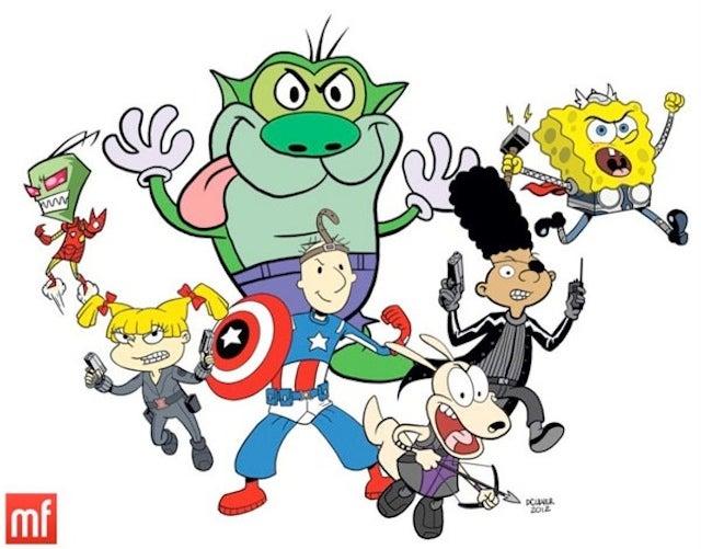 The Nicktoon Avengers Assemble!
