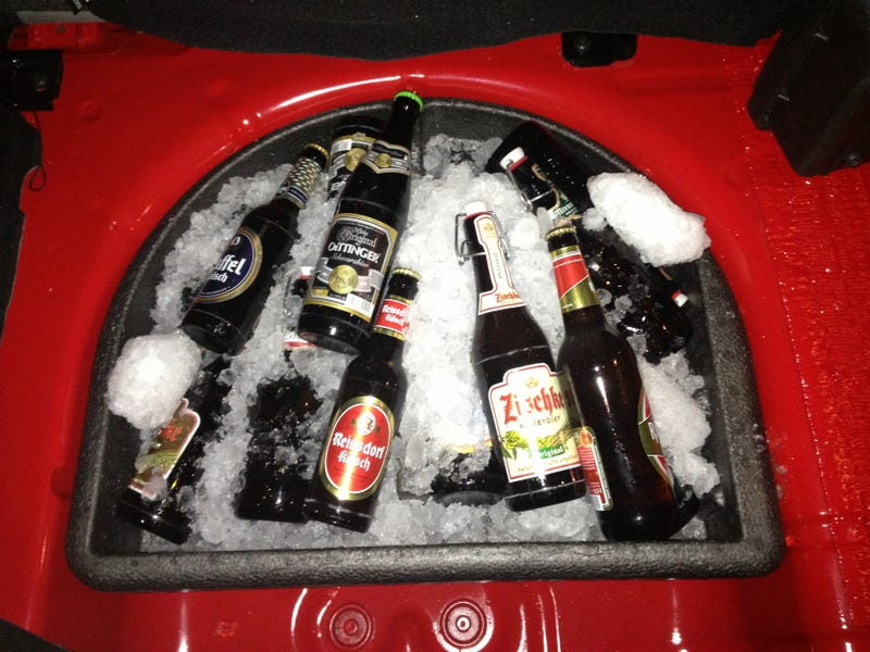 24Hrs Of The Nurburgring: A Fiesta ST, A Trunk Load Of Beer, And Rain!