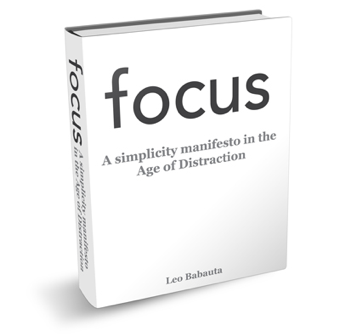 Focus Is a Free Ebook on Minimalism and Killing Distractions
