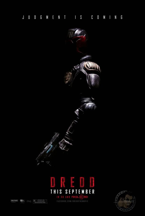 First Look at Official Dredd Poster