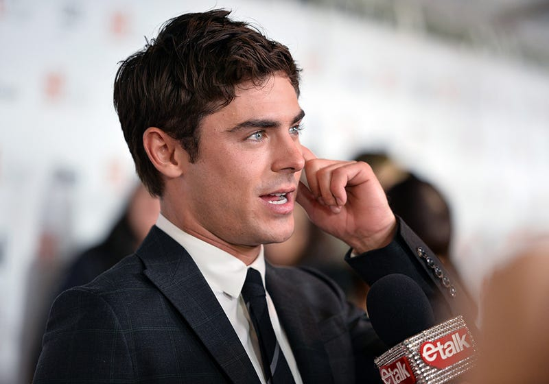 Zac Efron Slipped and Broke His Beautiful, Beautiful Jaw