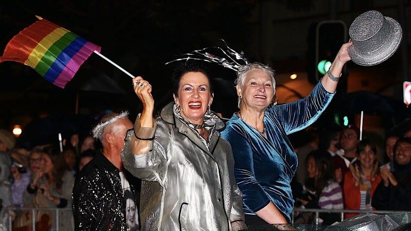Sydney's Mayor Gaily Enjoys a Very Gay Mardi Gras Parade