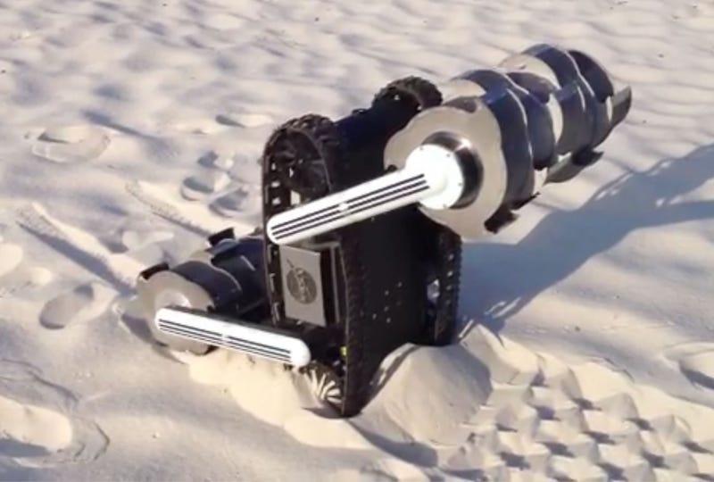 El ingenioso robot de la NASA capaz de extraer agua de Marte