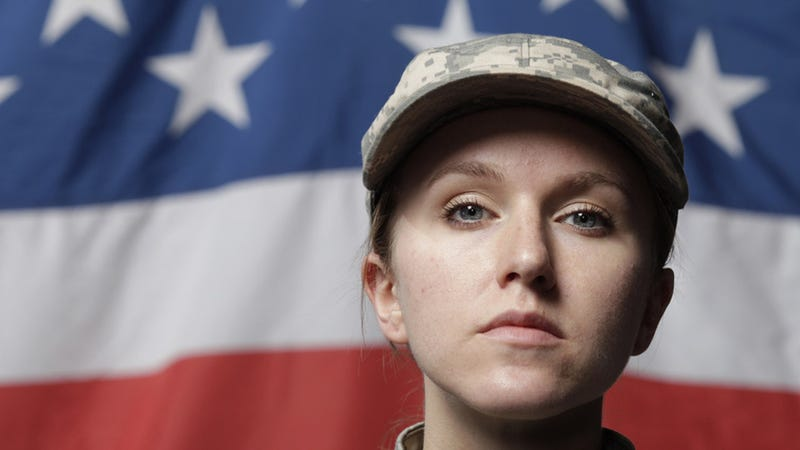 Female Soldiers Sue for Their Right to Fight in Combat