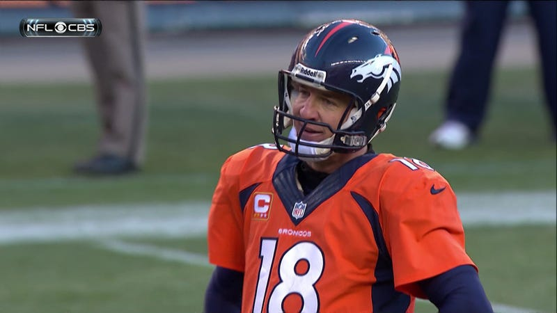 Your Obligatory Playoff Manningface