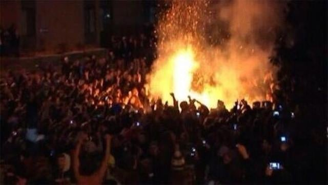 Storrs Is Rioting After UConn Win