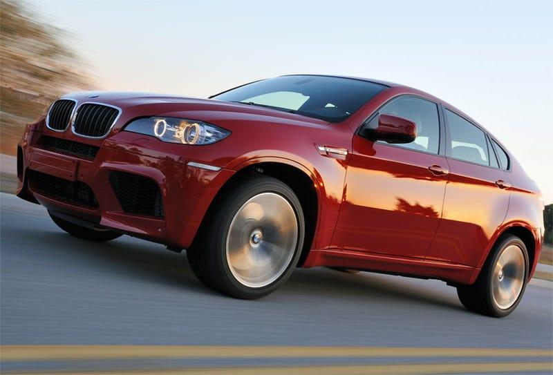 BMW X5 M, X6 M: 555 HP All-Wheel-Drive Super-Soft-Roaders!