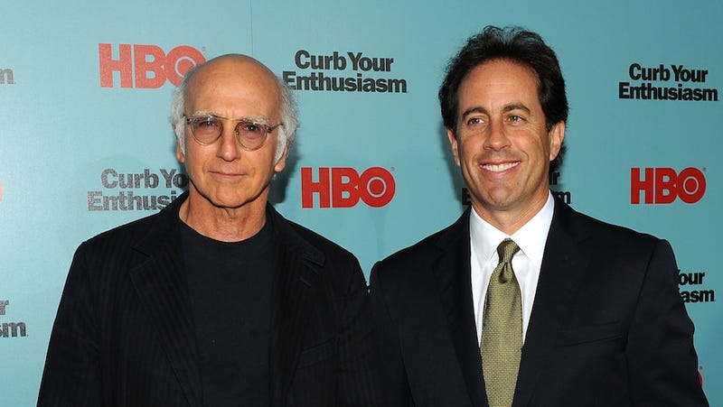 Jerry Seinfeld and Larry David Are Working On a Secret Project