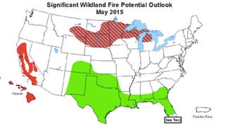 Bad News: Here's A Wildfire Prediction Map (There Is No Good News)