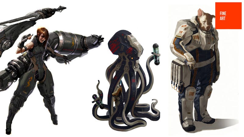 You Guys Like Giant Robots, Space Pigs and Fighting Octopus, Right?