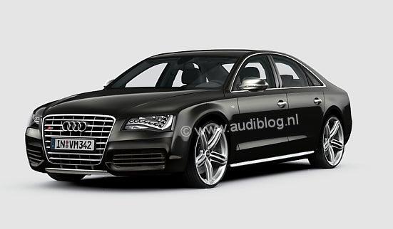 2011 Audi S8: Rendered
