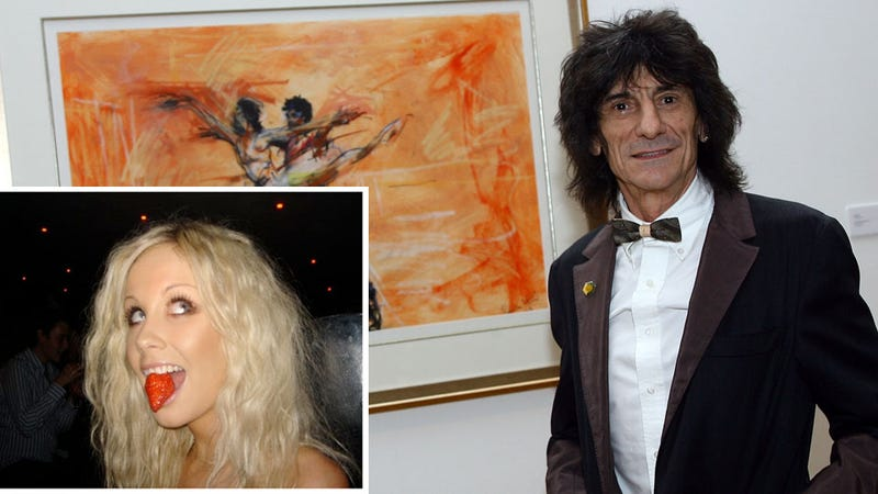 Ronnie Wood's New 25-Year-Old Girlfriend Loves Hoobastank