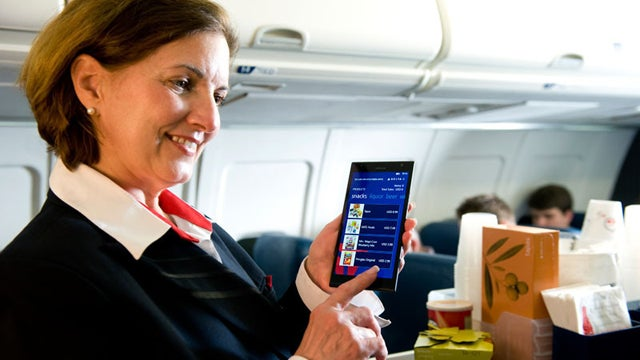 Delta Will Save $1 Million A Year Giving Flight Attendants Smartphones