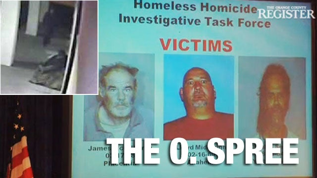 A Serial Killer Is Stalking the O.C.'s Homeless