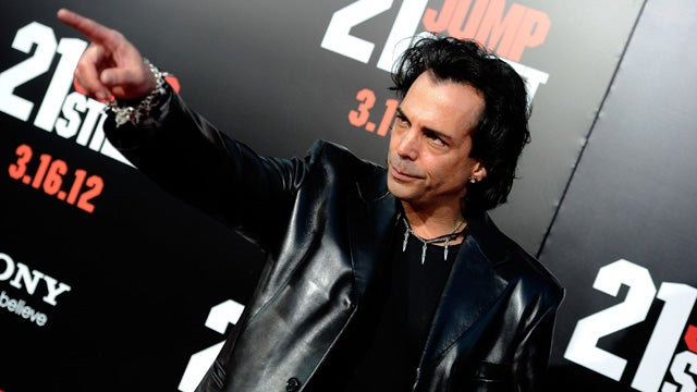 Richard Grieco Was Epically Creepy at 21 Jump Street Premiere