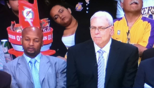 Phil Jackson's Zenergy Lulled At Least One Person To Sleep In L.A. Last Night