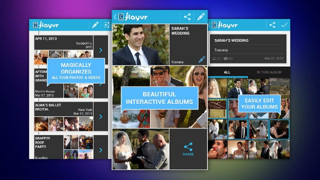 Flayvr Automatically Sorts Your Photos and Videos Into Event Albums